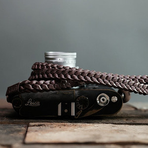 Barton1972 Leather Neck Strap Braided Style - NaturalLEICA, 라이카